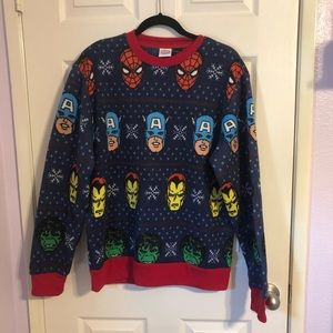 Other - Marvel Christmas Sweater